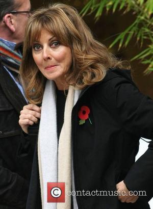 Carol Vorderman at the ITV studios London, England - 31.10.12