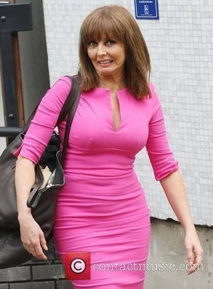 Carol Vorderman at the ITV studios London, England - 04.07.12