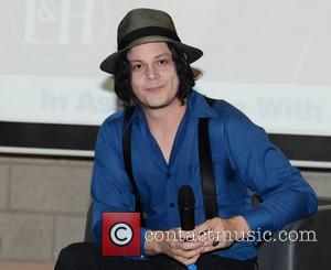 Jack White attends a Q&A session for the Literary and Historical Society at University College Dublin Dublin, Ireland - 30.10.12