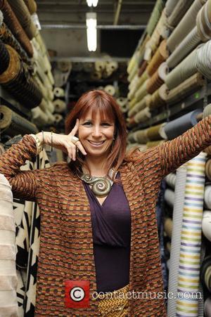 Former 'Real Housewives of New York City' star Jill Zarin seen inside of Zarin's Fabrics New York City, USA -...