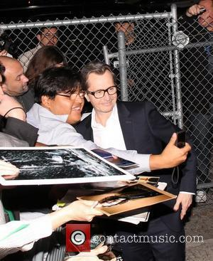 Gary Oldman outside ABC's 'Jimmy Kimmel Live!' studios Los Angeles, California - 02.02.12