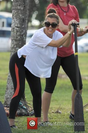 Kourtney Kardashian Goes Toy Shopping With Mason In Miami