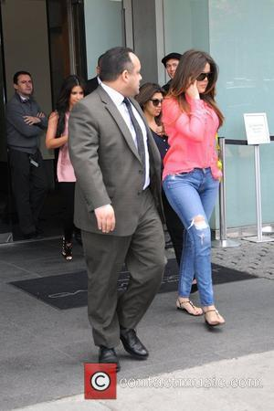Khloe Kardashian is seen departing from her Manhattan Hotel New York City, USA - 30.04.12