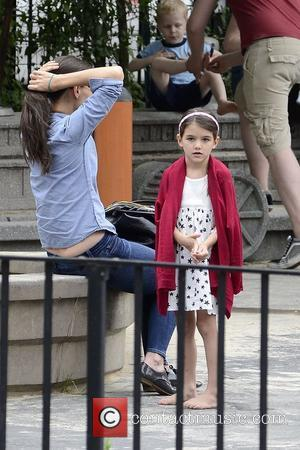 Katie Holmes On The Lookout For A Tall Guy