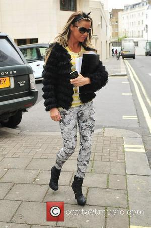 Katie Price outside The Dorchester hotel London, England - 10.05.12