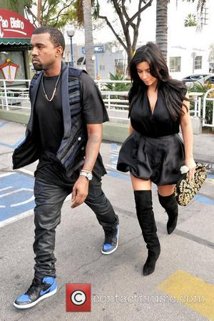Kanye West and Kim Kardashian leaving Kung Pao Bistro in West Hollywood Los Angeles, California - 23.12.12