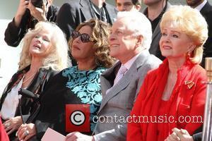 Connie Stevens, Debbie Reynolds, Lainie Kazan and Grauman's Chinese Theatre