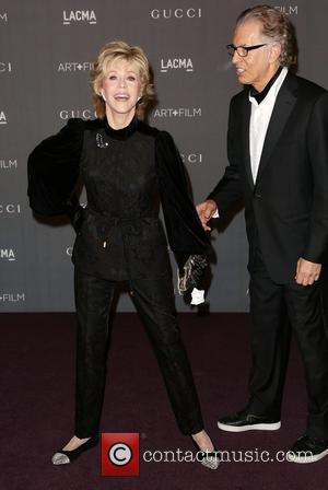 Jane Fonda and Richard Perry LACMA 2012 Art + Film Gala Honoring Ed Ruscha and Stanley Kubrick presented by Gucci...