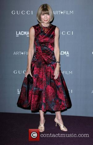 Anna Wintour  LACMA 2012 Art + Film Gala Honoring Ed Ruscha and Stanley Kubrick presented by Gucci at LACMA...