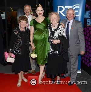 Imelda May and family The 50th Anniversary of 'The Late Late Show' at RTE Studios Dublin, Ireland - 01.06.12