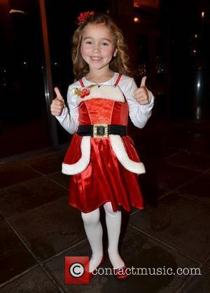 Ava Eustace Celebrities outside the RTE studios for Ryan Tubridy's annual 'The Late Late Toy Show' where audience members get...