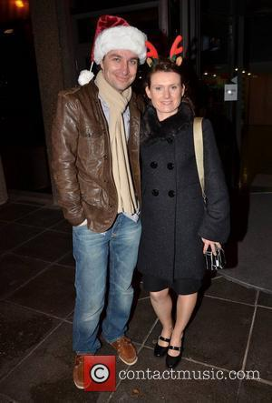Kim Hatton, Keith Jenkinson Celebrities outside the RTE studios for Ryan Tubridy's annual 'The Late Late Toy Show' where audience...