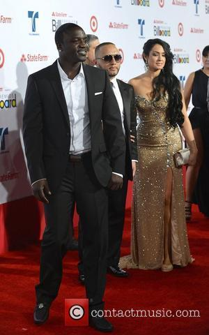 Akon Billboard Latin Music Awards 2012 held at the BankUnited Center - Arrivals Miami, Florida - 26.04.12