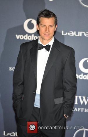 Bear Grylls Laureus Sport Awards held at the Queen Elizabeth II Centre - Arrival. London, England - 06.02.12