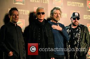 John Paul Jones, Jimmy Page, Robert Plant and Jason Bonham