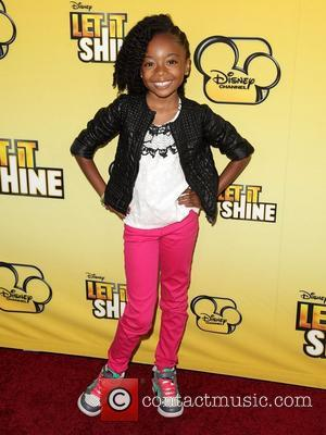 Skai Jackson  Disney's 'Let It Shine' Premiere held at The Directors Guild Of America Los Angeles, California - 05.06.12