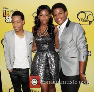 Tyler James Williams, Coco Jones, and Trevor Jackson Disney's 'Let It Shine' Premiere held at The Directors Guild Of America...