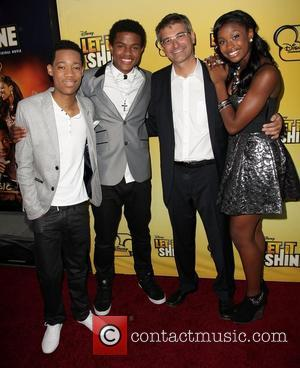 Tyler James Williams, Trevor Jackson, Paul Hoen and Coco Jones Disney's 'Let It Shine' Premiere held at The Directors Guild...
