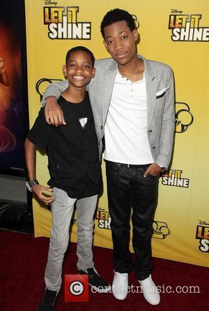 Tyrel Jackson Williams and Tyler James Williams Disney's 'Let It Shine' Premiere held at The Directors Guild Of America Los...
