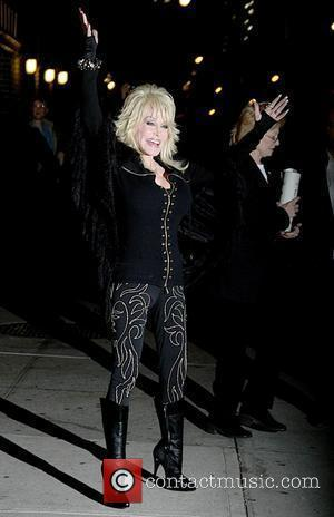 Dolly Parton 'The Late Show with David Letterman' at the Ed Sullivan Theater - Arrivals and Departures New York City,...