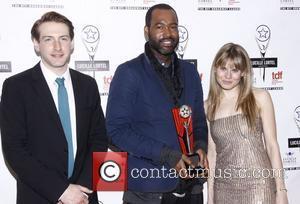Fran Kranz, Esosa and Celia Keenan-Bolger The 2012 Lucille Lortel Awards held at NYU Skirball Center - Press Room New...