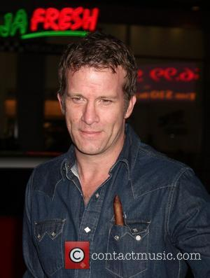 Thomas Jane HBO's 'Luck' Los Angeles premiere held at Graumans Chinese Theatre Hollywood, California - 25.01.12