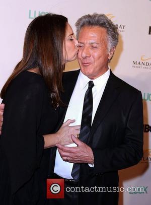 Dustin Hoffman and Wife Lisa Gottsegen Mandalay Bay Resort and Casino hosts an advanced screening of new HBO Original Series...
