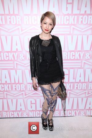 Mika Nakashima the MAC Cosmetics Viva Glam Party at Stage 37  New York City, USA - 15.02.12