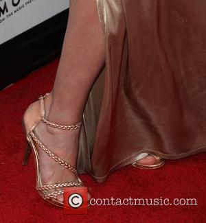 Haley Strode (shoe detail) Macy's Passport Presents: Glamorama - 30th Anniversary in Los Angeles held at The Orpheum Theatre Los...