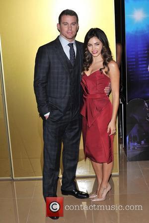Channing Tatum and Jenna Dewan Magic Mike UK film premiere held at the Mayfair Hotel.  London, England - 10.07.12