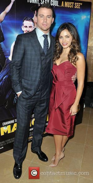 Channing Tatum and Jenna Dewan,  'Magic Mike' European Premiere-Mayfair Hotel London, England - 10.07.12