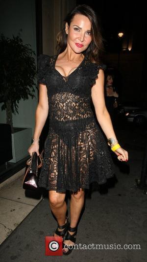 Lizzie Cundy outside Mahiki nightclub London, England - 29.09.12