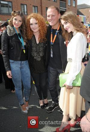 Brooke Vincent, Jennie McAlpine, Paula Lane, Antony Cotton and Paula Lane  Manchester Pride 2012 Manchester, England - 25.08.12