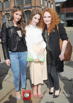 Brooke Vincent Paula Lane and Jennie McAlpine Manchester Pride 2012 Manchester, England - 25.08.12