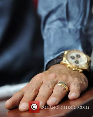 Marc Anthony still wearing his wedding ring, opens Obama For America Campaign Office in Little Havana. Miami, Florida - 02.08.12