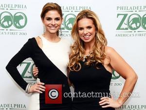 Maria Menounos and Maria Papadak attend the Philadelphia Zoo Global Conservation Gala Philadelphiam Pennsylvania - 01.11.12