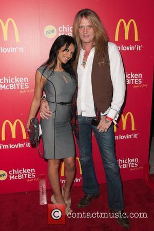 Sebastian Bach Splits From Model Girlfriend