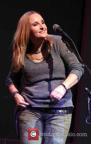 Musician Melissa Etheridge perfoming for 'Meet the Musician: Melissa Etheridge' at the Apple Store Soho. New York City, USA -...