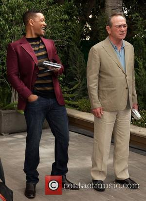 Will Smith and Tommy Lee Jones 'Men In Black 3' Photocall in Beverly Hills Los Angeles, California - 05.03.12
