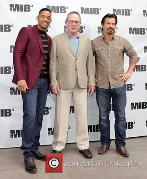 Will Smith, Tommy Lee Jones and Josh Brolin 'Men In Black 3' Photocall in Beverly Hills Los Angeles, California -...