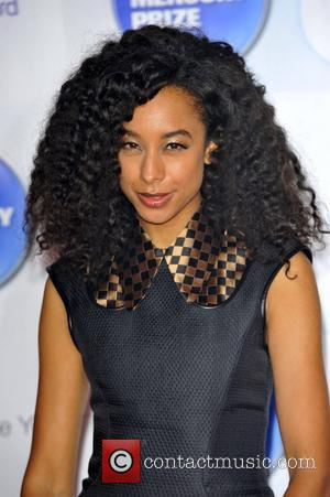 Corrine Bailey Rae  Barclaycard Mercury Music Prize held at the Roundhouse - Arrivals London, England - 01.11.12