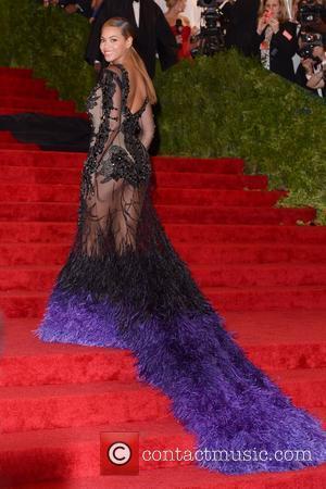 Beyonce Knowles Schiaparelli and Prada 'Impossible Conversations' Costume Institute Gala 2012 at The Metropolitan Museum of Art New York City,...