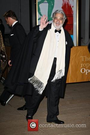 Freedom of the City of London Handed to Spanish Tenor Placido Domingo