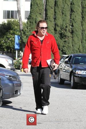 Mickey Rourke goes to meet friends for coffee in Beverly Hills Beverly Hills, California - 03.12.11