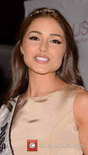 Miss Universe Olivia Culpo  Donald Trump crowns New Miss USA at Trump Tower, New York City  Featuring: Miss...