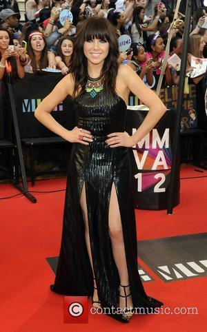 Carly Rae Jepsen  MMVA 2012 (Much Music Video Awards) at the MuchMusic HQ - Arrivals Toronto, Canada - 17.06.12