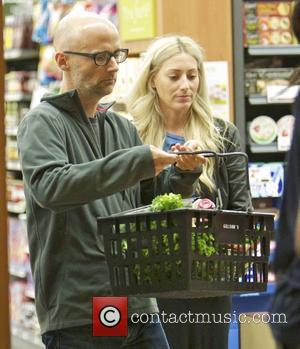 Moby and a friend shopping at Gelson's Supermarket in Beverly Hills Los Angeles, California - 26.08.12
