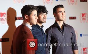 The Jonas Brothers 19th MTV Europe Music Awards - Arrivals Frankfurt, Germany - 11.11.12
