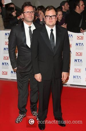 Alan Carr with his boyfriend Paul The National Television Awards 2012 (NTA's) - Arrivals London, England - 25.01.12