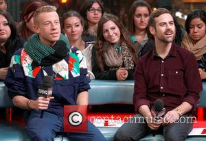 Macklemore and Ryan Lewis appear on Much Music's 'New.Music.Live.'  Featuring: Macklemore, Ben Haggerty, Ryan Lewis